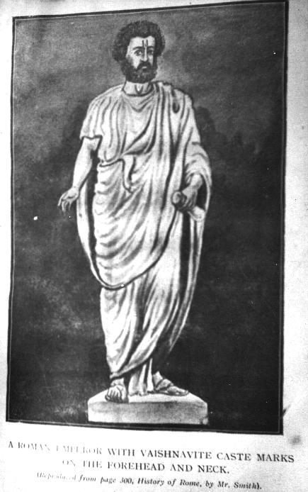 Roman Emperor with Vaishnava Marks.image.jpg