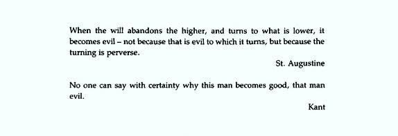 Kant's Definition Of Good Vs Evil