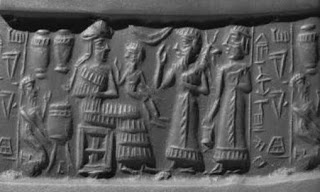 Image result for meluhha carrying antelope cylinder seal
