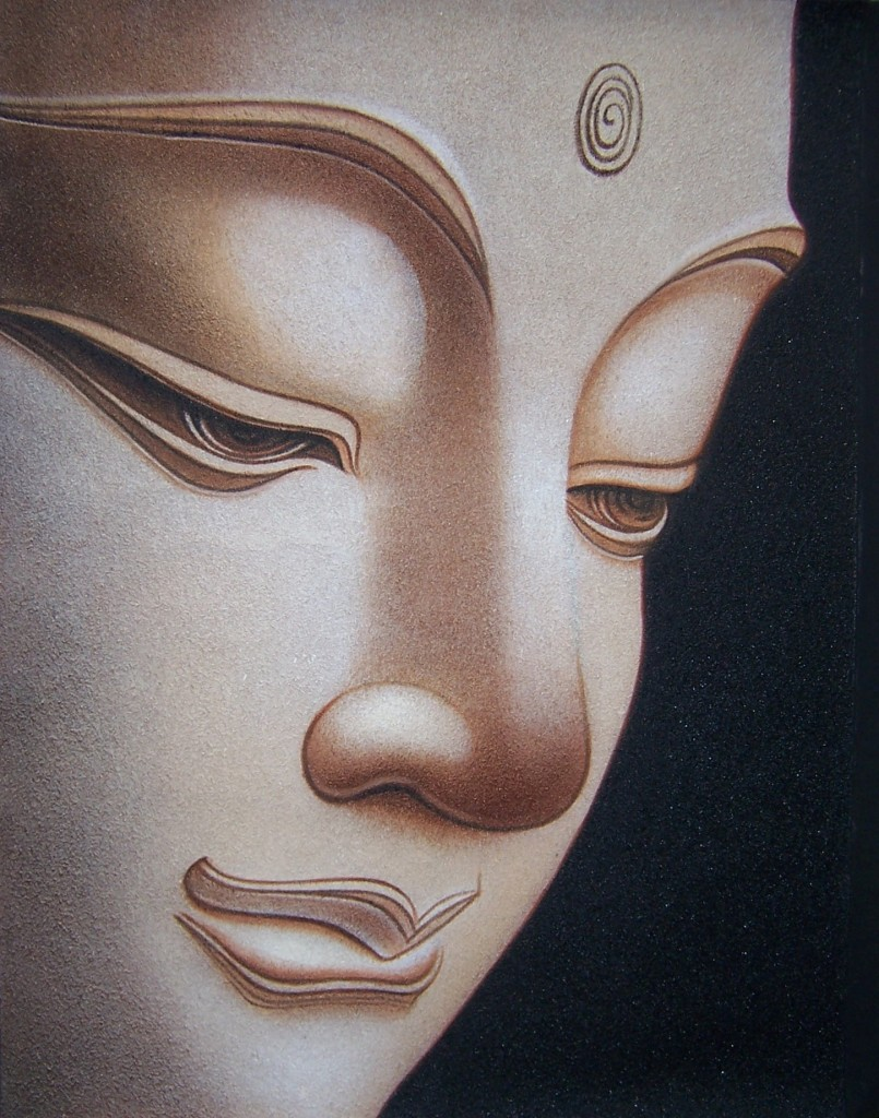 Buddha Truth Within Shines Without