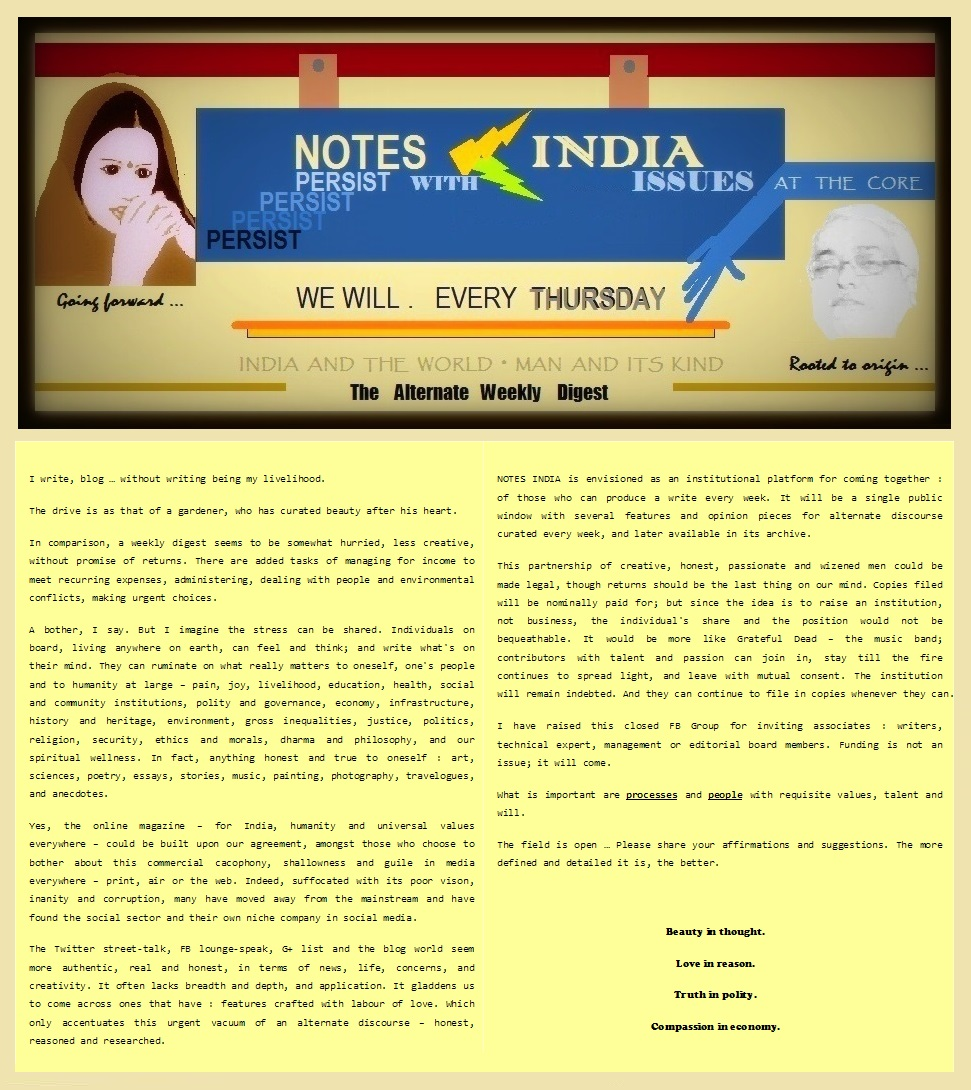 Notes India - Put Together