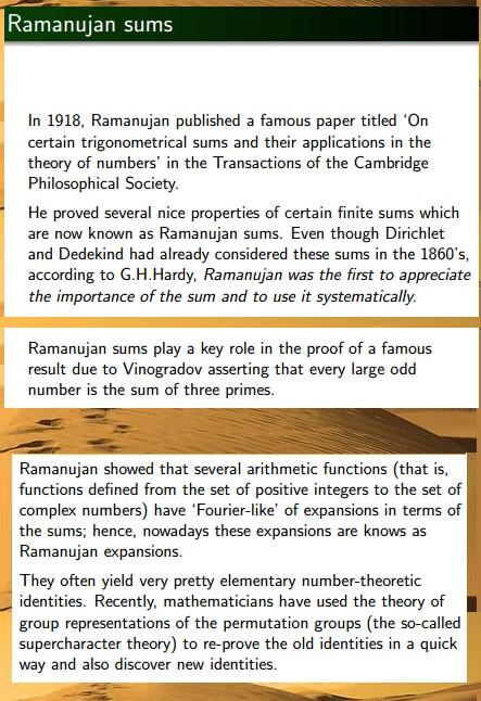 Ramanujam7