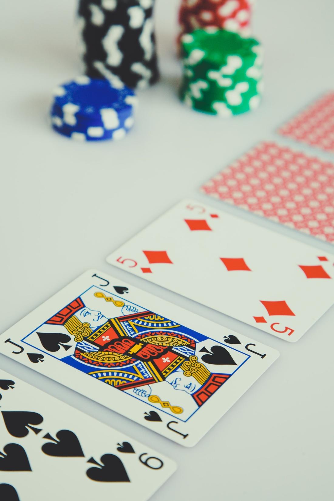 gamblers table